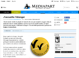 L'appel sur Mediapart